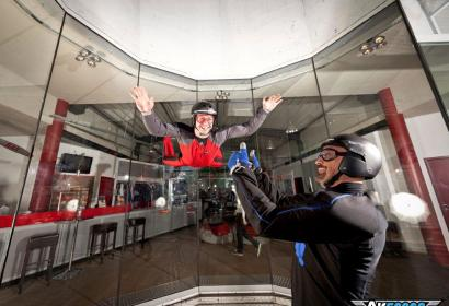 Wallonie insolite - Airspace Indoor Skydiving