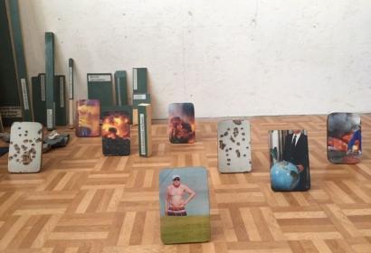 Art au Centre - Liège - Vue de l'oeuvre Le Dragon Dragone - sabrina-montiel-soto-2