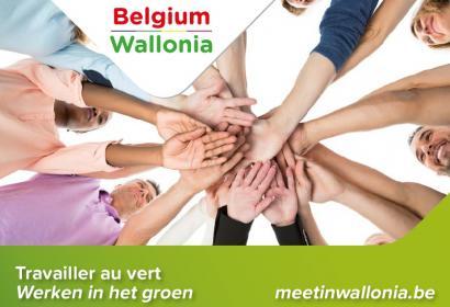brochure MICE Travailler au vert en Wallonie