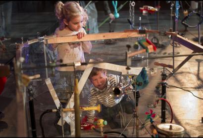 Festival Pépites, l'Art et les Tout-Petis: het BPS22 voor kinderen