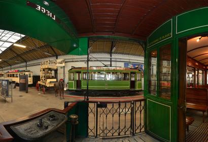 MTCW - Musee - Transports en commun - Wallonie - expo permanente - panoramique