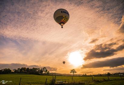Vol en montgolfière - Là-Haut - Baptêmes de l'air à Liège