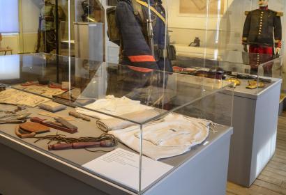 Exposition de soldats au Musées de Latour à Latour