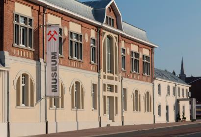 Museum Vieille Montagne à La Calamine, sa façade