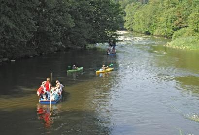 Descente - Semois - kayak - Chiny - Florenville