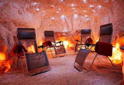Paradis de sel - Un concept unique en Belgique - grotte de sel - microclimat marin - sel de l'Himalaya - Mer Morte - solarium