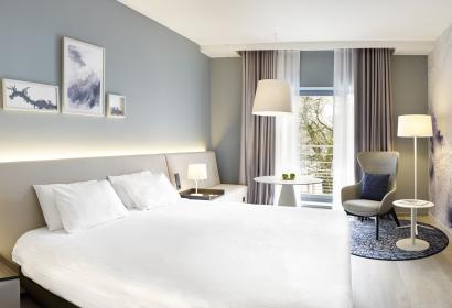 Chambre du Radisson Blu Palace hotel Spa