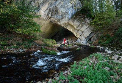 A la recherche de la rivière perdue du Domaine des Grottes de Han