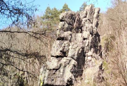 Roche-à-Frêne - Manhay - rocher