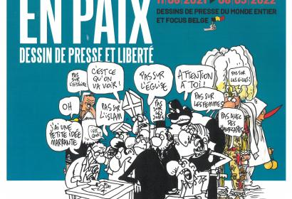 Expo « Cartooning for peace » à l'Abbaye de Stavelot