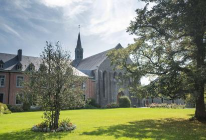 Sentiers - GR - Abbayes - Trappistes - Wallonie - Abbaye de Scourmont