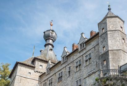 centre historique - Chimay - Château