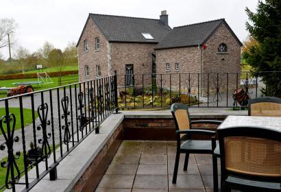Gîtes de Chevémont - Elégance - Hombourg - Terrasse