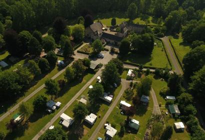 Camping en Wallonie - camp - campement - bivouac - aire touristique - nature - photo aérienne - Villatoile