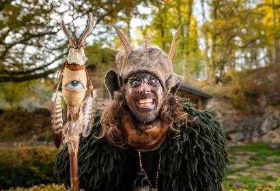 Magisches Halloween | In der Domaine der Grotten von Han