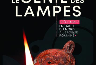 Expo Le Génie des Lampes - affiche - Archeosite