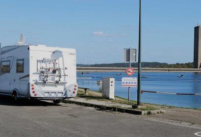 Aire de services pour campings-cars aux Lacs de l'Eau d'Heure