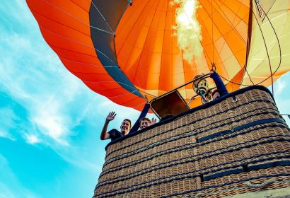 Vol en montgolfière avec C-Air ©Eric Goossens
