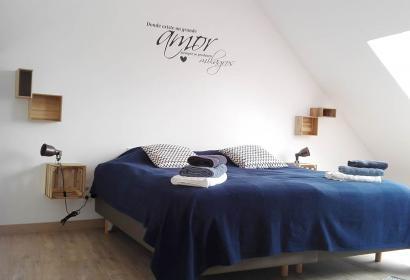 Gîte rural - La Balade d'Annie - Trooz - chambre - grenier