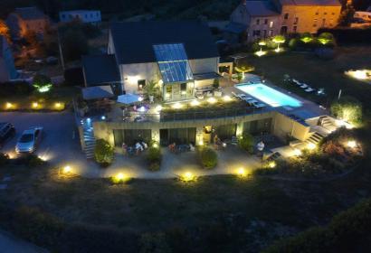 Le Bouchat Oreille - Chambres d'hôtes - Yvoir - 4 chambres d'hôtes - 8 personnes - drone