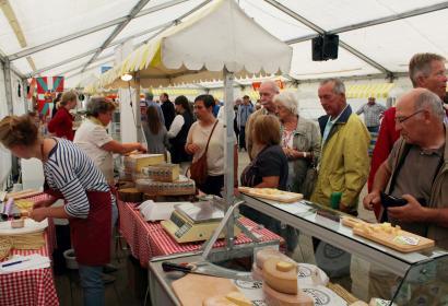 Wallonie goourmande - fête du fromage - Harzé