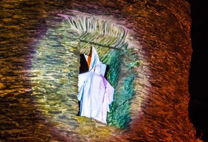 Le fantôme de Berthe : spectacle au château de La Roche-en-Ardenne