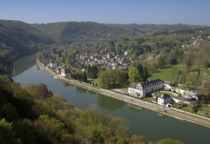 Bord de Meuse - Village - Waulsort - Panorama