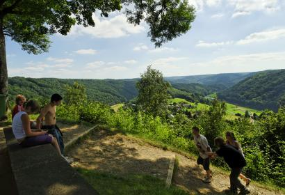 Rochehaut - panorama - Frahan - tombeau - géant