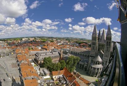 Tournai - Panorama - toitures