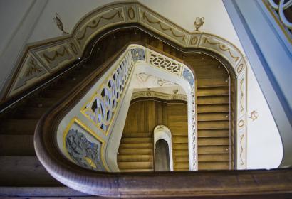 Liège - Grand Curtius - escalier - détail architectural