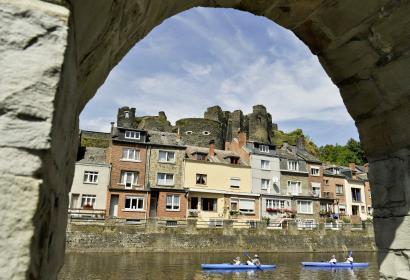 La Roche-en-Ardenne - Kayak - fortification - ruines - arcade