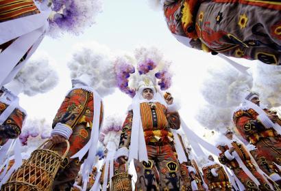 Binche - Carnaval - Gilles - patrimoine immatériel de l'UNESCO