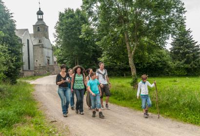 Randonnez et découvrez les alentours du village d'Odeigne (Manhay), en province de Luxembourg