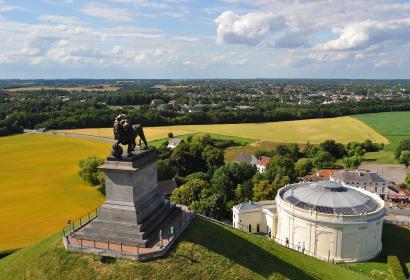 Lion de Waterloo - Panorama