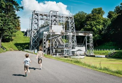 Canal du Centre historique - Ascenseur hydraulique no3 - Strépy-Bracquegnies - La Louvière - UNESCO