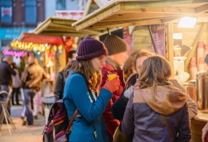 Promenez-vous au Marché de Noël de Charleroi