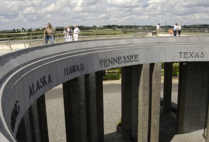 Bastogne - Mardasson - Mémorial Américain
