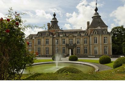 Discover the Modave Castle, dating back to the XVIIth century