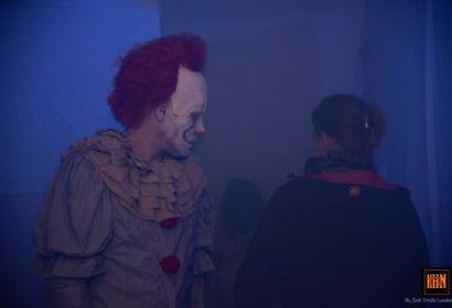 Halloween horror garden event