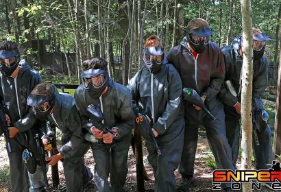 Paintball Sniper Zone - Paintball Outdoor - Malmedy - forêt des Fagnes - terrain de 10000 m²