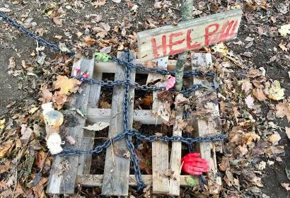 Halloween in het Naturaparc | Griezelen geblazen in Boussu-lez-Walcourt