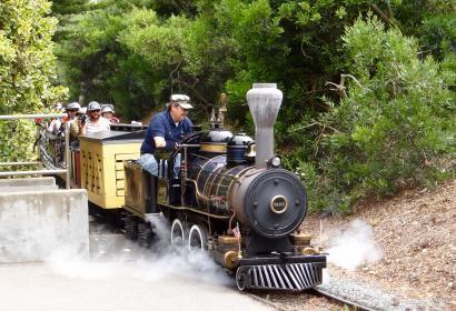 Petit train - miniature - voie férée