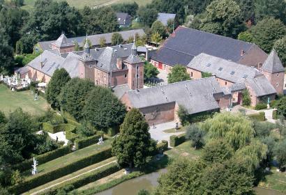 Château - Petit-Leez - 17ème siècle - château-ferme - architecture mosane