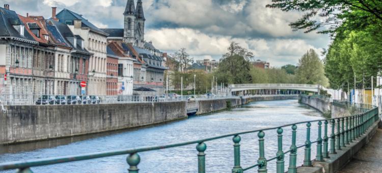 Les quais de l'Escaut - Tournai