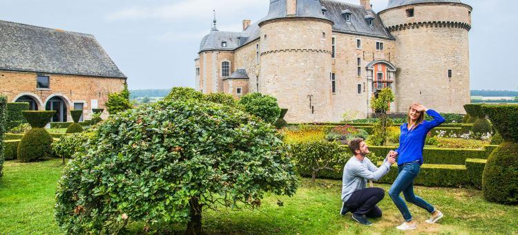 Rochefort - Chateau - Lavaux-sainte-Anne - couple - romantique