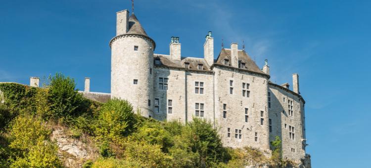 Château de Walzin - Au sud de Dinant - Province de Namur - Lesse