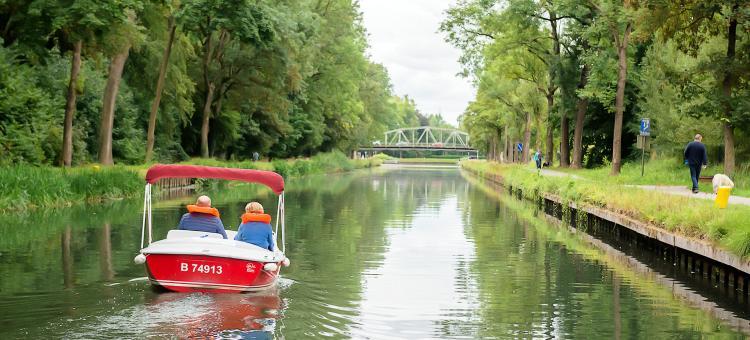 Location - bateaux électriques - canal du Centre - Ascenseur N1 et cantine des italiens - Wallonie terre d'eau