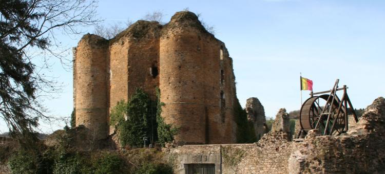 Château - Franchimont - Theux - province de Liège - XIᵉ siècle