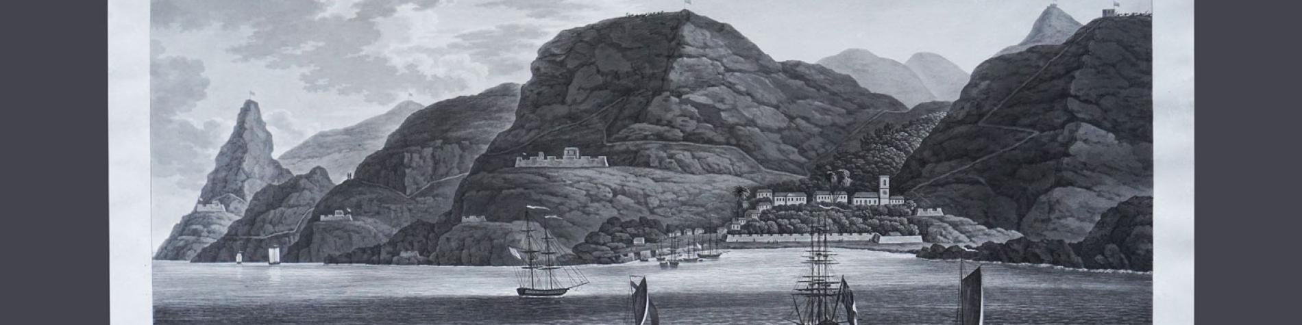 Expo au Mémorial Waterloo 1815 - Vue Sainte-Hélène
