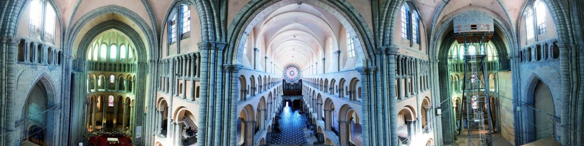 Vue intérieure - Cathédrale-Notre-Dame-Tournai